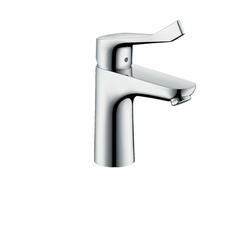 Hansgrohe Focus Single lever basin mixer 100 CoolStart with extra long handle wi