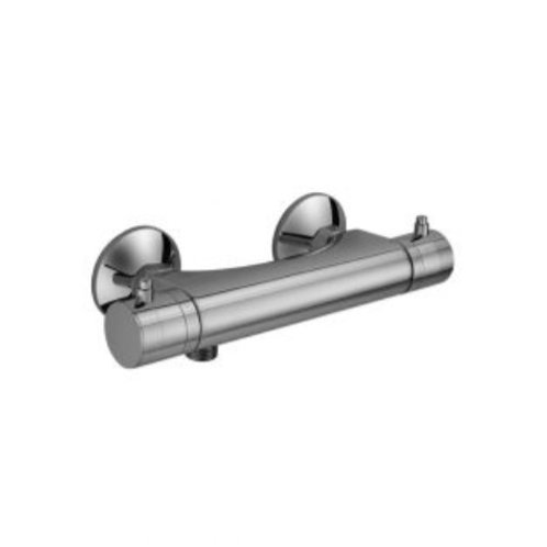 Ciflal Mini Round Exposed Thermostatic Bar Valve