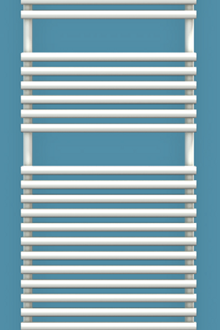 Bisque Straight Fronted 1876mm x 496mm Towel Rail