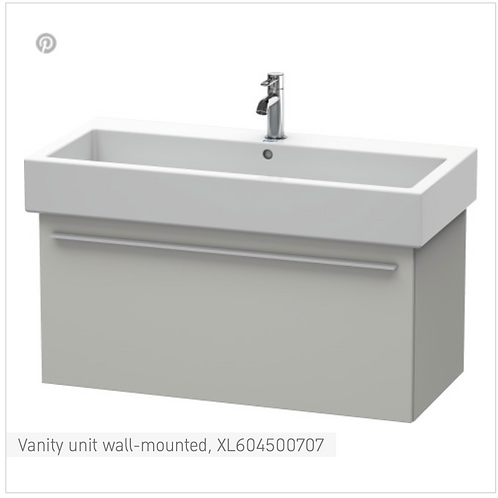 X-Large Vanity unit Wall Mounted 950 x 443 mm