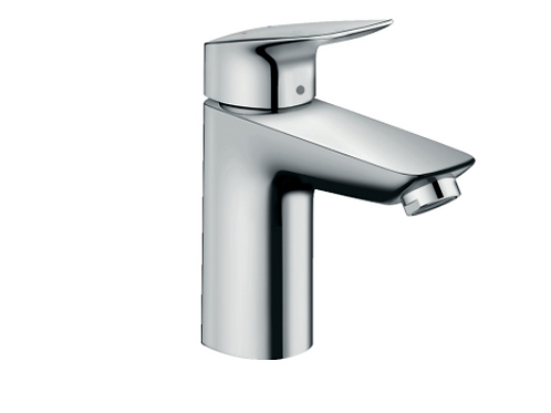 Hansgrohe Logis Single lever basin mixer 100 LowFlow 3.5 l/min with pop-up waste