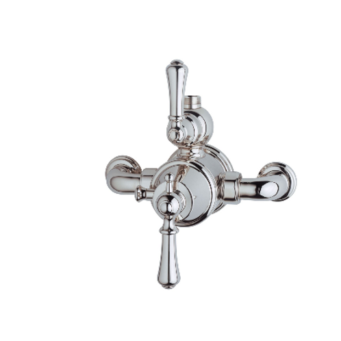 Perrin & Rowe Georgian Exposed Thermostatic Shower Mixer with Lever Handles