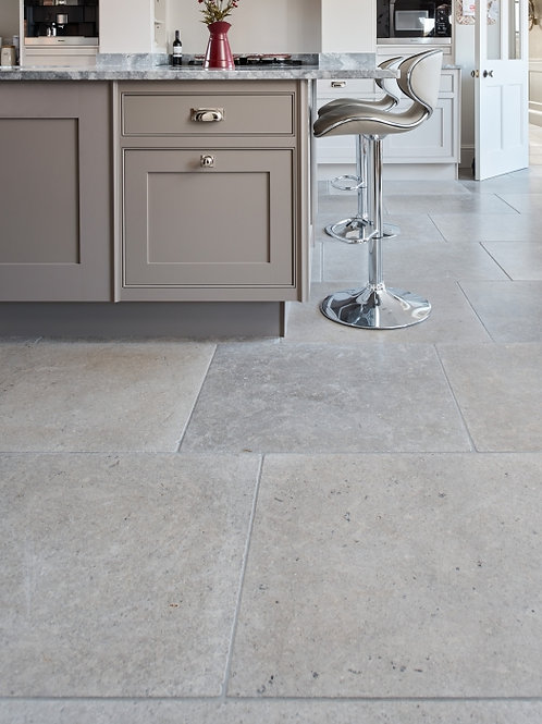 Corfe Limestone Tumbled Finish 60cm x Random Price Per Sqm