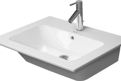 Duravit ME by Starck Washbasin 630mm, Furniture Washbasin