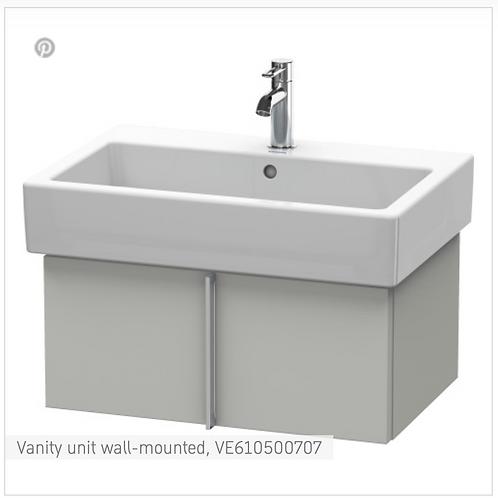 Vero Vanity unit wall-mounted 1150mm x 431mm
