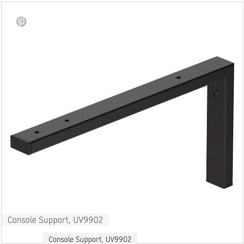 Accessories Console Support 40mm x 425mm