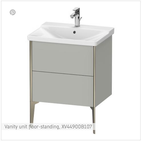 XViu Vanity unit floor-standing 610 x 469 mm