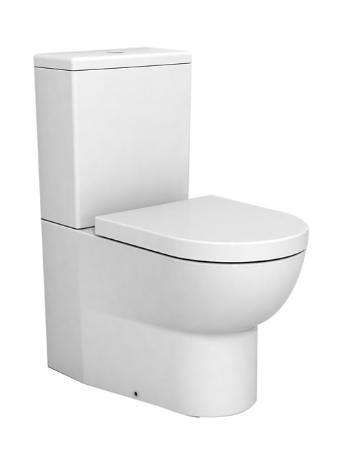 Cifial BLOCK Back-To-Wall Close Coupled WC & Seat