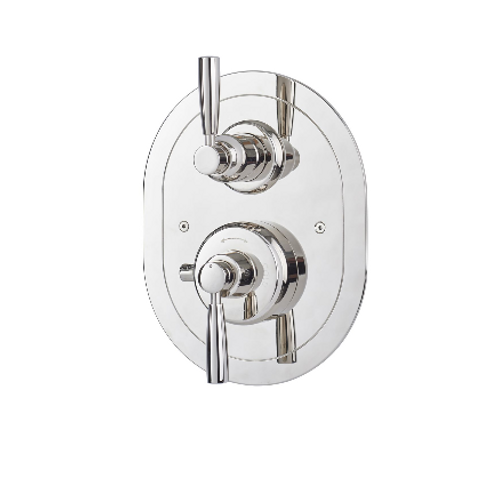 Perrin & Rowe Contemporary Concealed Thermostatic Shower Mixer with Lever Handle