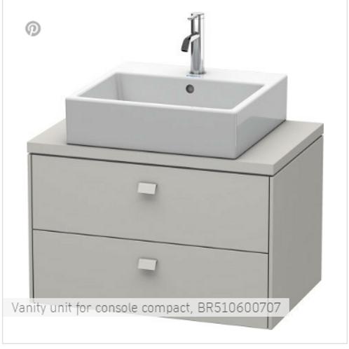 Duravit Brioso Vanity Unit Floor Standing 720mm x 480mm