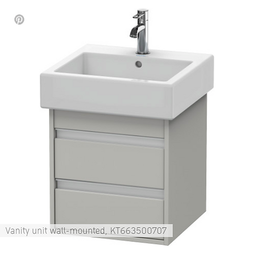 Duravit Ketho Vanity unit wall-mounted 450 X 440