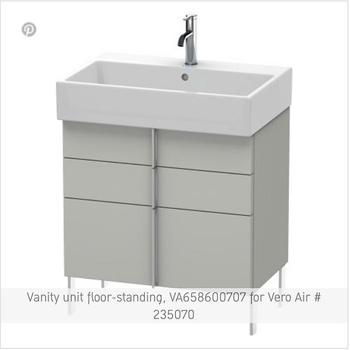 Vero Air Vanity unit floor-standing 684mm x 431mm