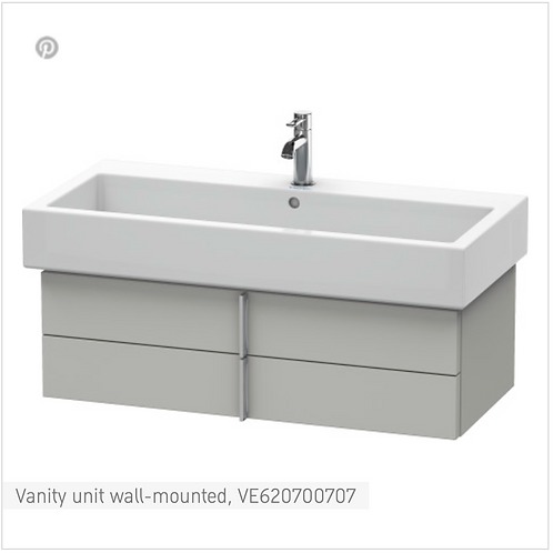 Vero Vanity unit wall-mounted 950mm x 431mm