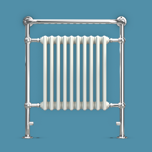 Bisque Balmoral 850mm x 735mm Radiator - Dual Fuel