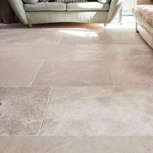 Carnaby Limestone Tumbled Finish 61cm x Random Price Per Sqm