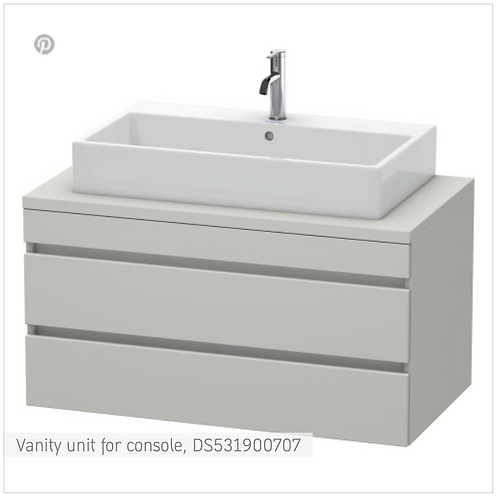 DuraStyle Floor cabinet for consoles 300mm x 548mm