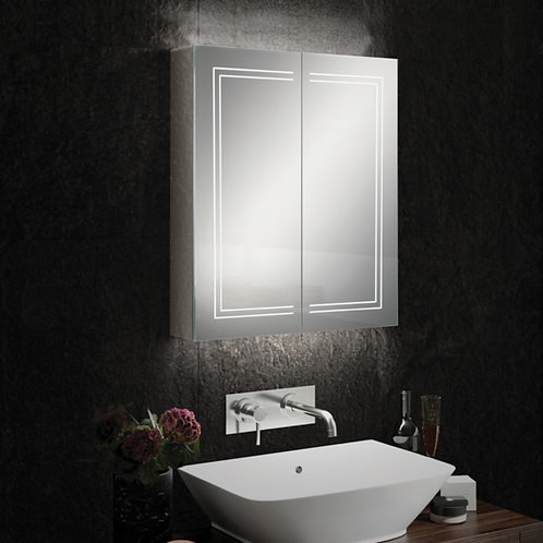 HIB Edge 60 Mirror Cabinet
