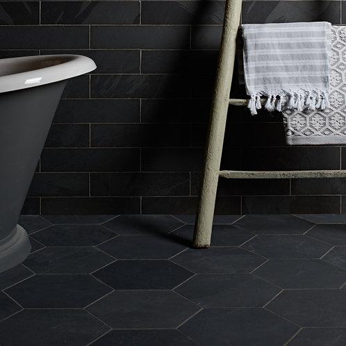 Metropolitan Slate Brick Riven Finish 10 x 30cm  Price Per Sqm