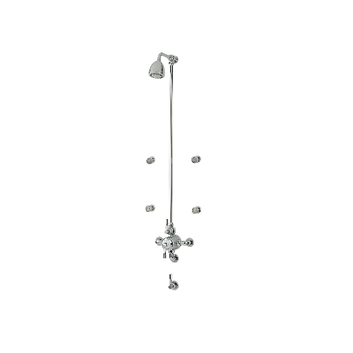 Perrin & Rowe Contemporary Shower Set Eight