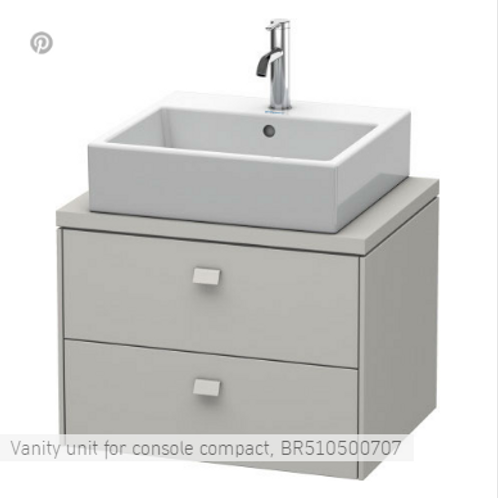 Duravit Brioso Vanity Unit Floor Standing 620mm x 480mm
