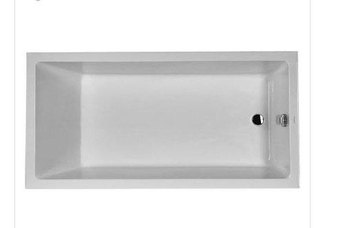 Duravit Starck Built-In Bathtub 1800x900 with support feet