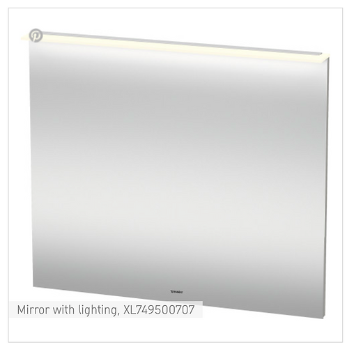 X-Large Mirror with lighting 1000 x 36/105 mm