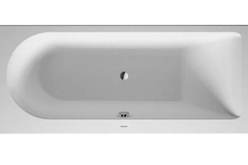 Duravit Darling New Bathtub 1700x700 with support feet