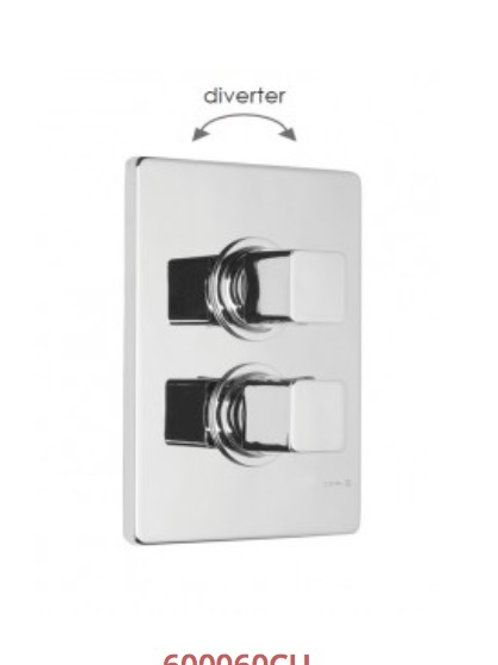 Cifial Cudo Thermostatic Valve With Diverter