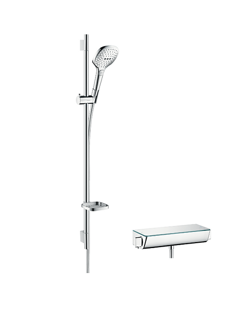 Hansgrohe Raindance Select E Shower system 120 with Ecostat Select thermostatic