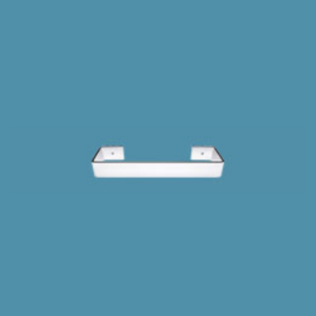 Bisque Blok 367mm x 66mm Towel Rail