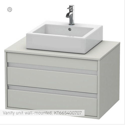 Duravit Ketho Vanity unit wall-mounted 800 X 550