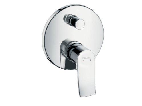 Hansgrohe Metris Single lever manual bath mixer for concealed installation