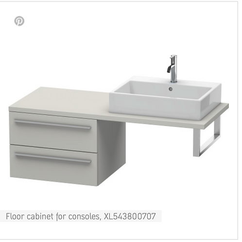 X-Large Floor cabinet for consoles 600mm x 548mm