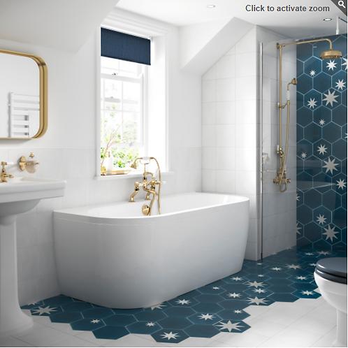 BC Designs Monreale Bath 1700 x 750mm