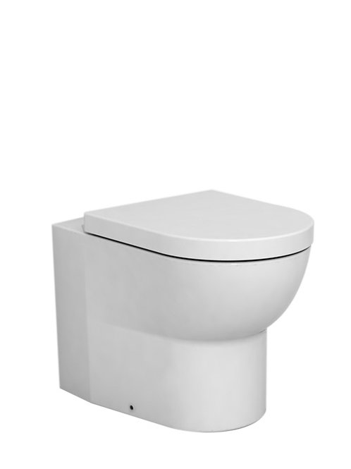 Cifial Block Back-To-Wall Pan & Seat
