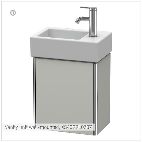 XSquare Vanity unit wall-mounted 364 x 240 mm