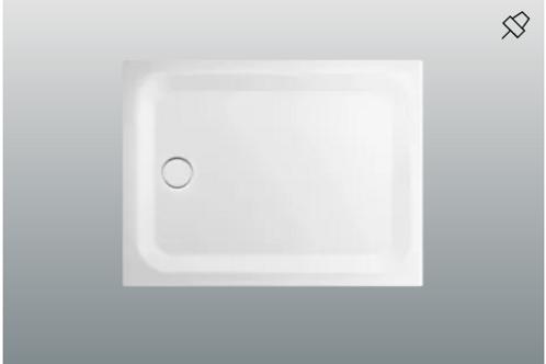 Bette Ultra 1050 -1500mm Shower Trays, Depth 3.5 cm