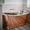 Thumbnail: BC Designs Copper/Nickel Boat Bath 1700mm
