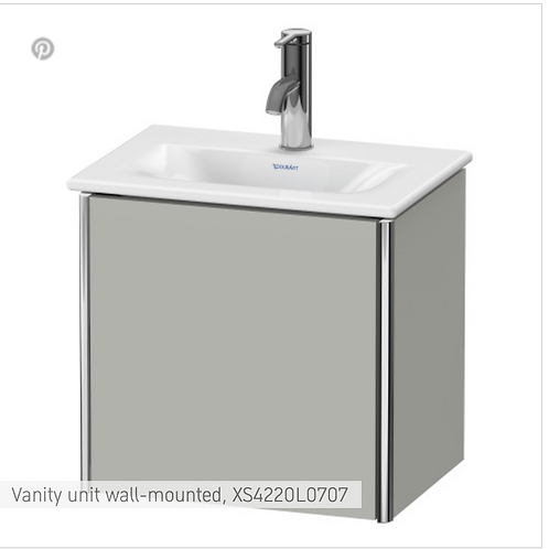 XSquare Vanity unit wall-mounted 430 x 308 mm
