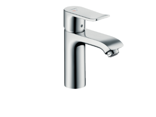 Hansgrohe Metris Single lever basin mixer 110 CoolStart with pop-up waste