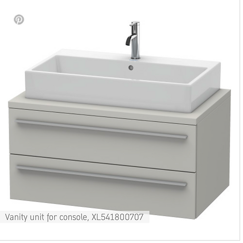 X-Large Vanity unit for console 900mm x 548mm