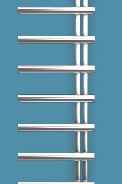 Bisque Chime 1450mm x 500mm Towel Rail - Electric Right Hand