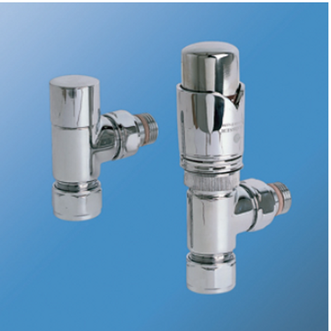 Bisque Valve Set K - Angled Thermostatic