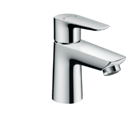 Hansgrohe Talis E Single lever basin mixer 80 with pop-up waste
