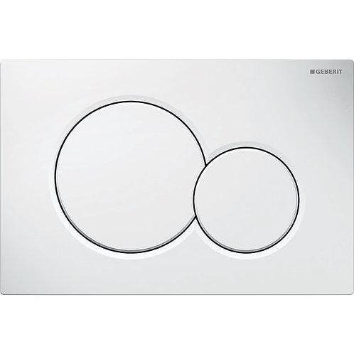 Geberit Flush Plate Sigma01 White Alpine For Dual Flush