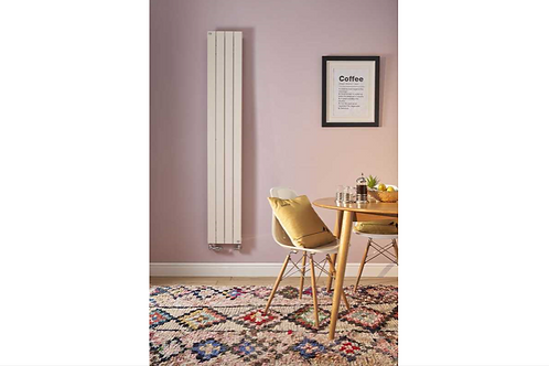 Zehnder Roda White Horizontal Single Panel Radiator (made to measure)