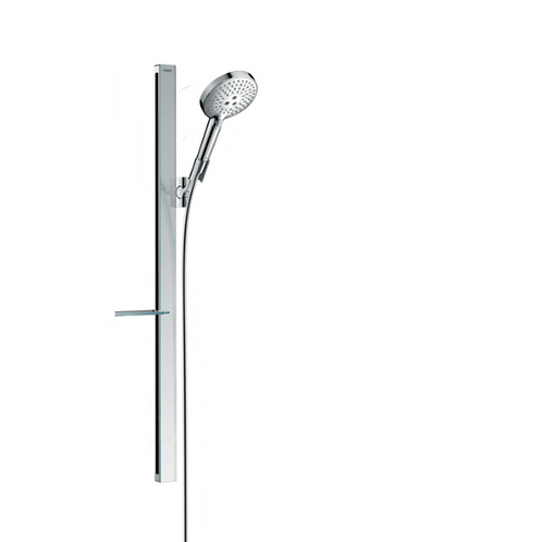 Hansgrohe Raindance Select S Shower Set 120 3Jet With 90cm Shower Rail and Soap