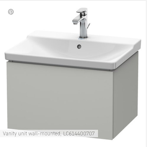 Duravit L-Cube Vanity Unit Wall Mounted 620 x 481