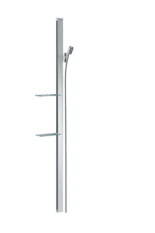 Hansgrohe Unica Shower rail E 150 cm with shower hose