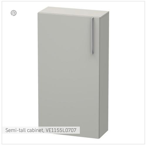 Vero Semi-tall cabinet 500 x 240 mm